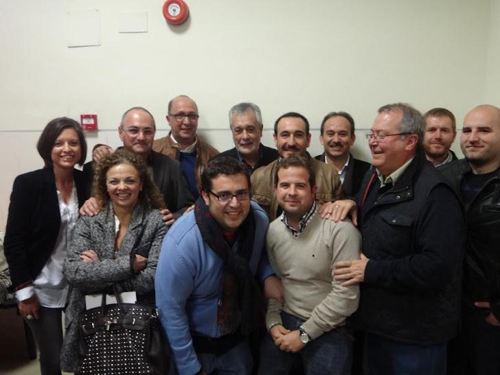 Con el Presidente Griñán