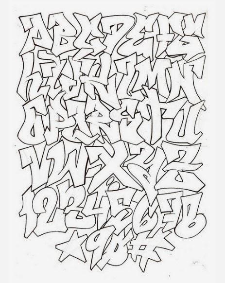 Graffiti Wall Letras De Graffiti 3d
