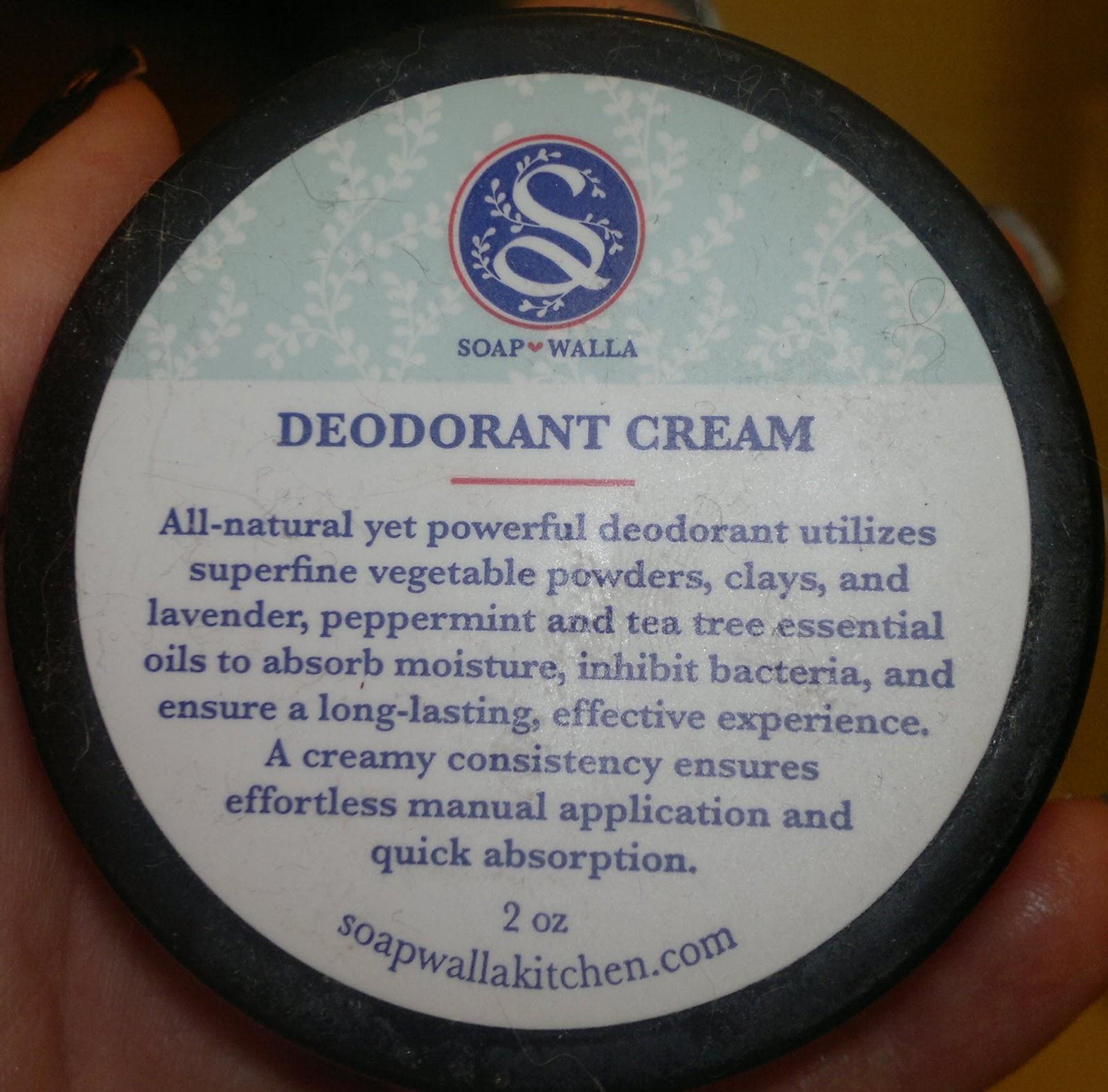 make it fab recension soapwalla deodorant cream. Black Bedroom Furniture Sets. Home Design Ideas