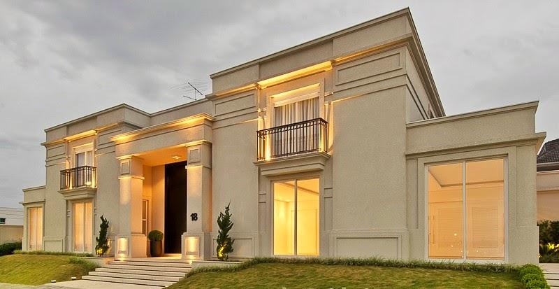 Casas em estilo neocl ssico blog jba im veis for Fachada de la casa clasica