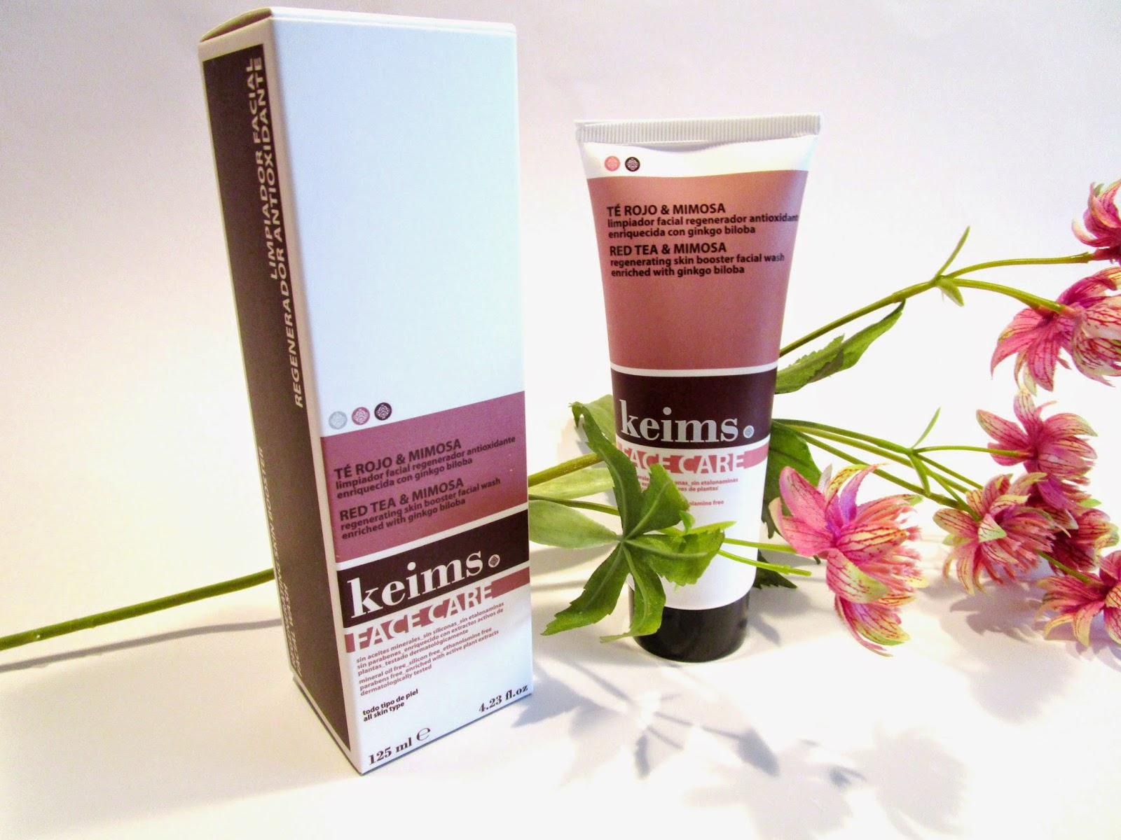 Limpiador Facial al Té Rojo y Mimosa Keims