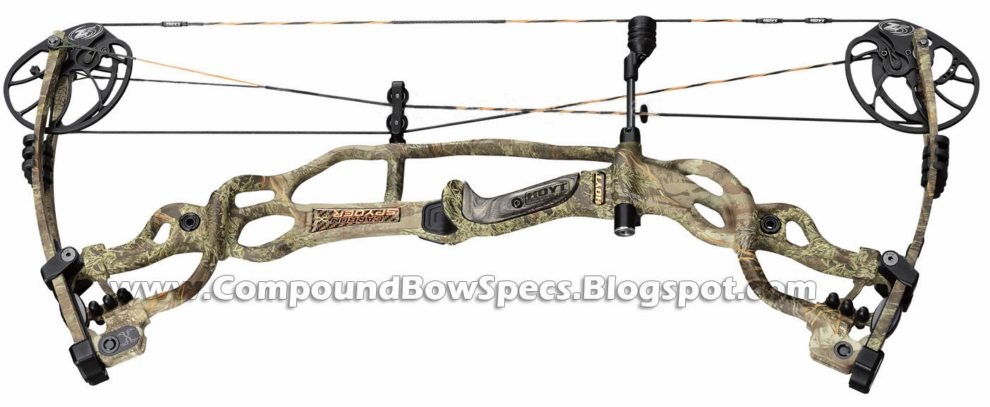 Hoyt Carbon Spyder 30 Compound Bow Specs 332fps
