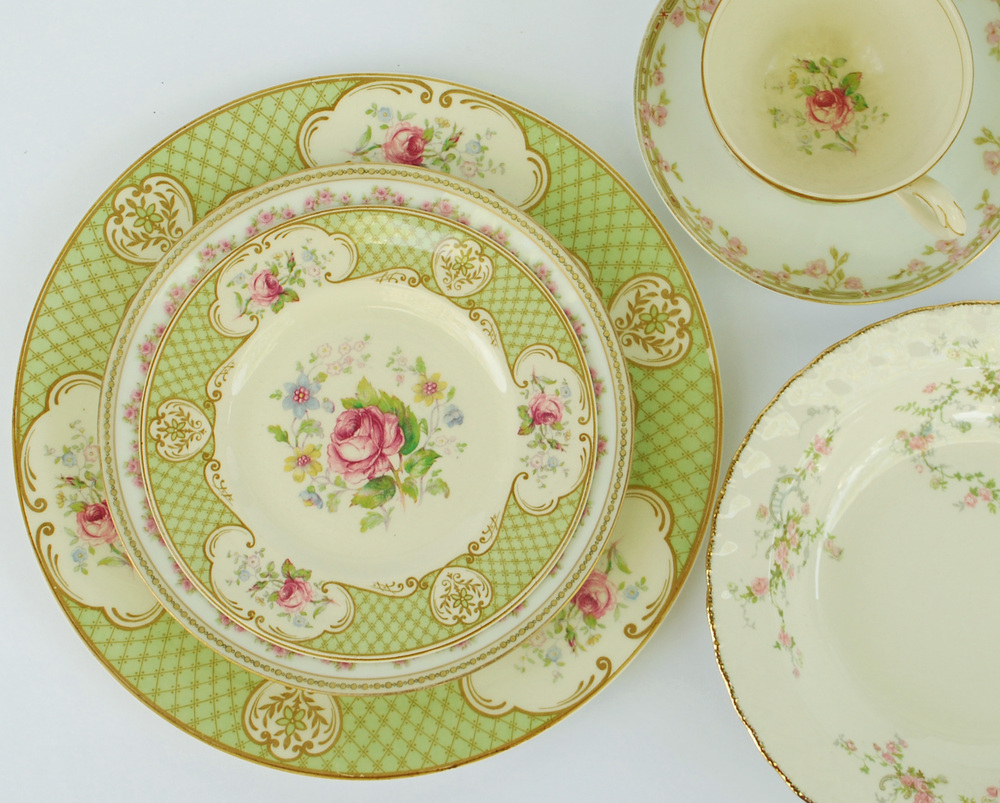 Fascinating 25 vintage china patterns decorating design Most popular china patterns