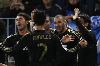 Malaga 0 - 1 Real Madrid (1)