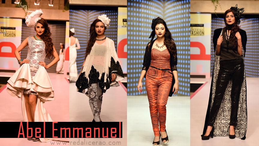 Maybelline Millennial Fashio Show 2014, MNMF14, Debut fashion show, Aalish Manzoor, Nitasha Yakoob, Madiha Raza, Abel Emmanuel, Sameer Sain, Royal soccer, Denim fashion, Hebrew Calligraphy, Tropical Birds, Couture, Pakistan Fashion, FPWAW14