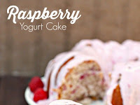 Fresh Raspberry Yogurt Bundt Cake