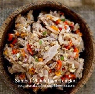 Resep Membuat Sambal Matah Ikan Tongkol Bali