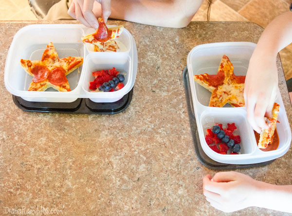 Pizza Stars Bento - #BigPizzeriaTaste #Pmedia #ad