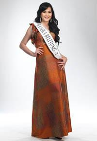 MISS INDONESIA 2011 CONTESTANT - Eviliana