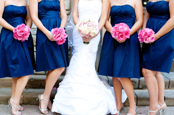 Hot Pink Wedding Photos : Platinum touch events color crush navy hot pink