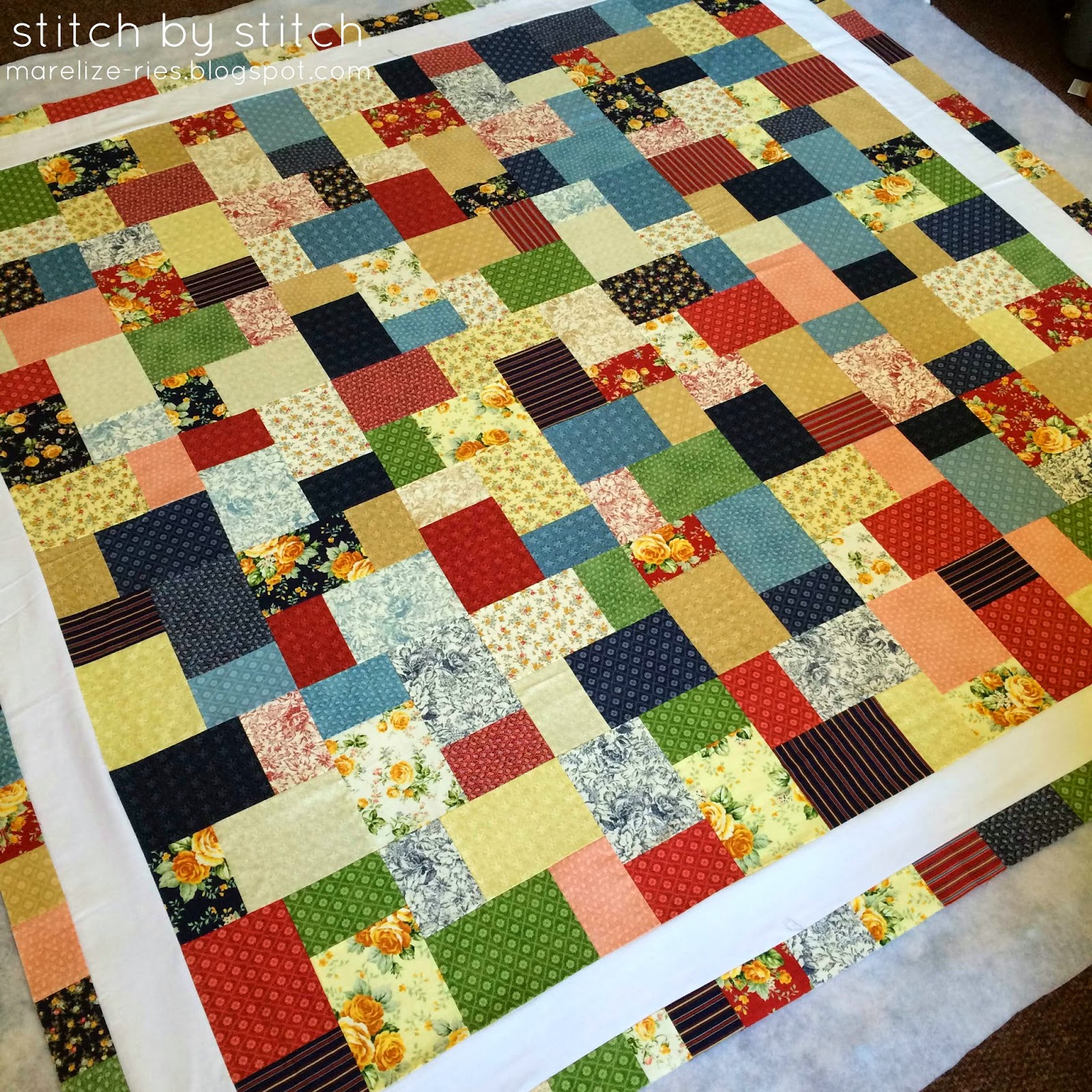 Layer Cake Quilt Definition : Stitch by Stitch: Double Slice Layer Cake Quilt