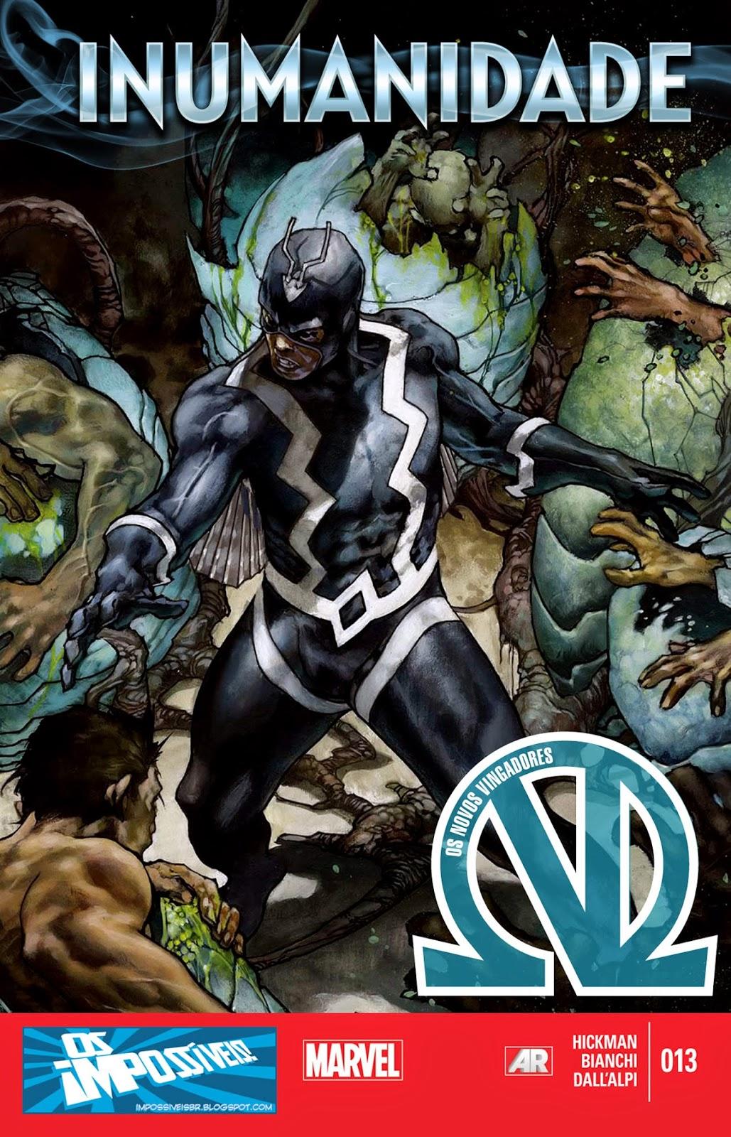 Nova Marvel! Os Novos Vingadores #13