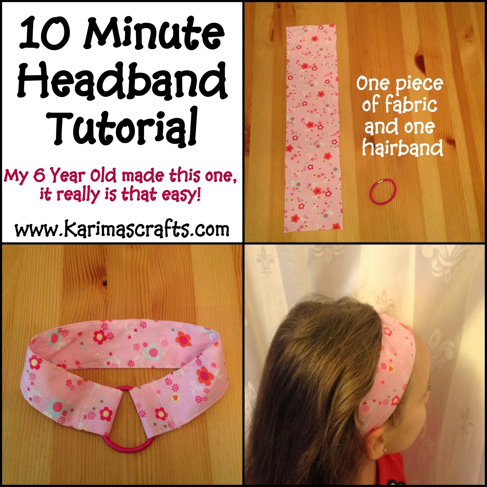 10 minute easy headband tutorial muslim blog