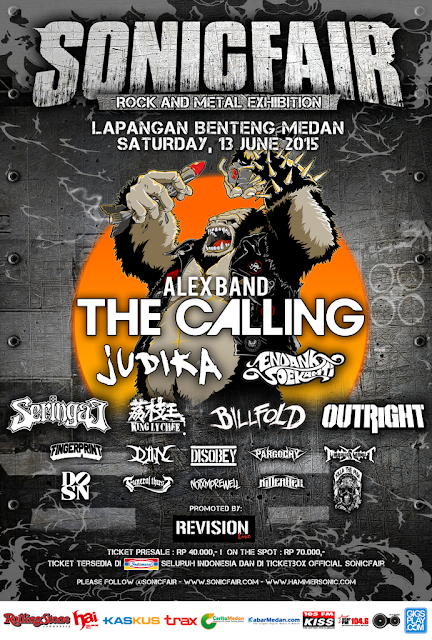 SONICFAIR Medan Hadirkan The Calling