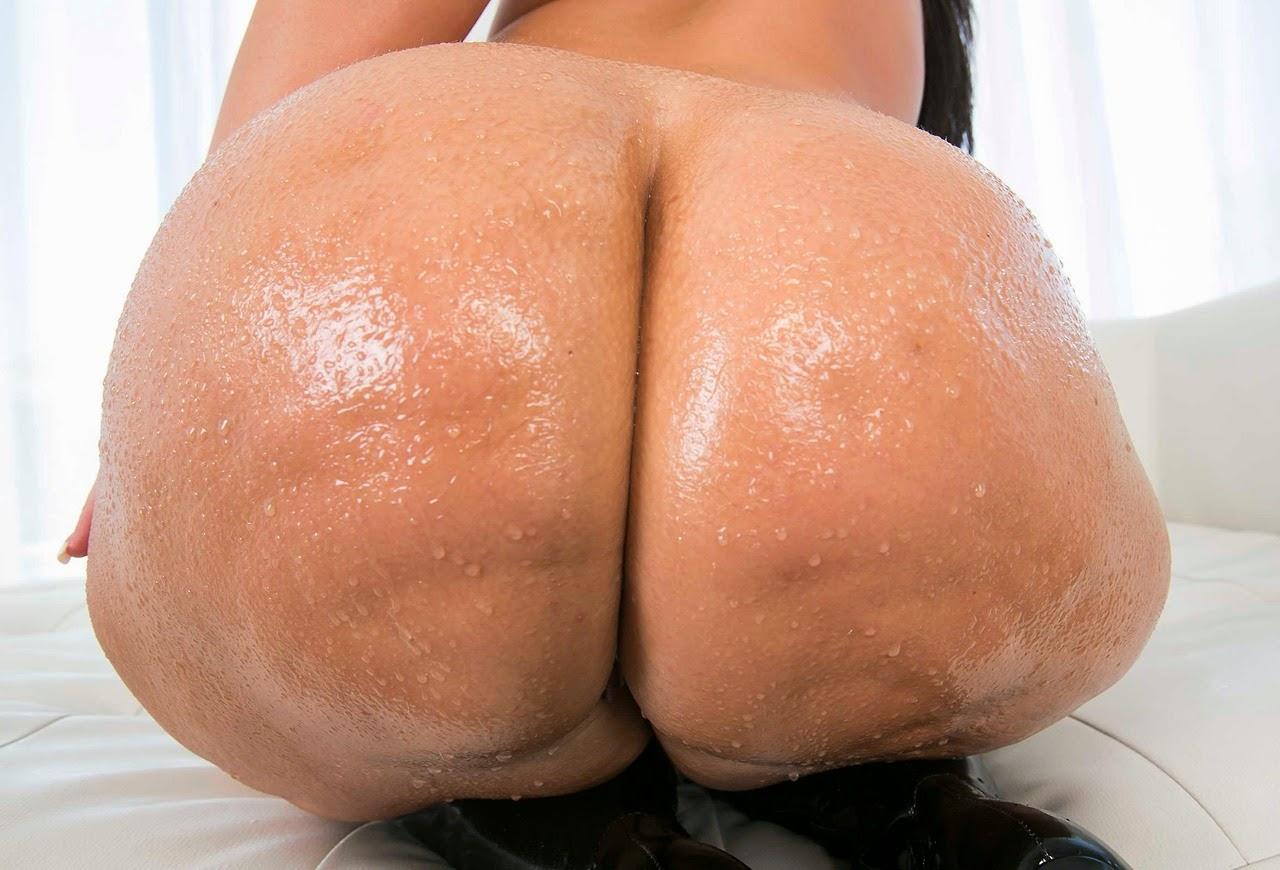 Riesige Cellulite Arsch nass gemacht