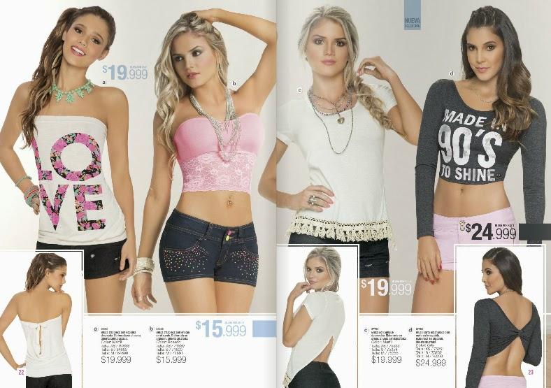 Catalogo ropa carmel moda teens 2015