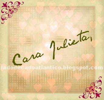 Imagem do Banner de uma carta para Julieta Capuleto