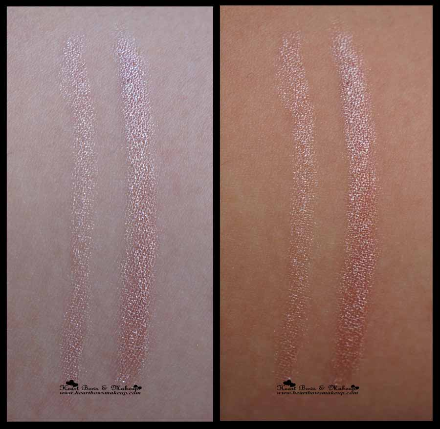 Maybelline Colorshow Crayon Khol Shiny Beige Swatches