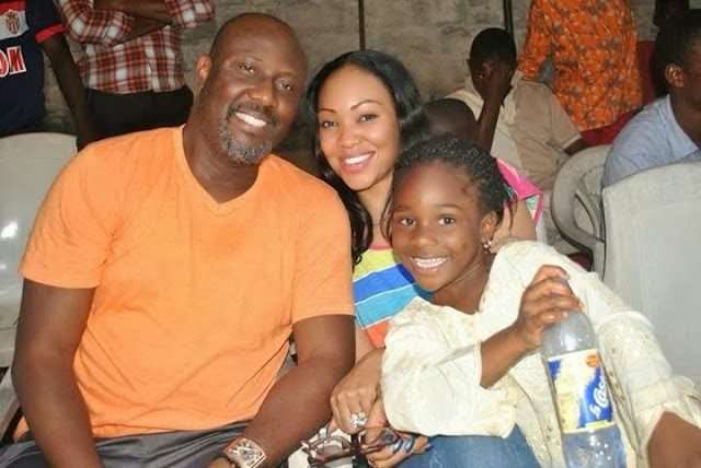 dino melaye wife dump him