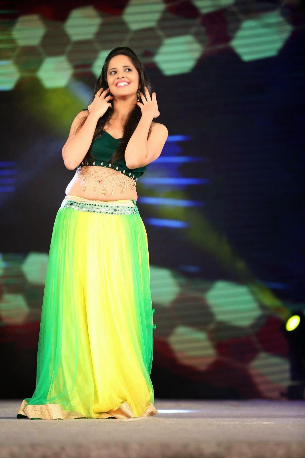 Anchor Anasuya Hot Spicy Dance Performance Photos