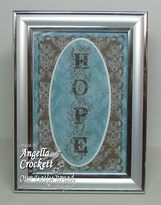 "Our Daily Bread designs ""Faith, Hope, Love"" Designer Angie Crockett"