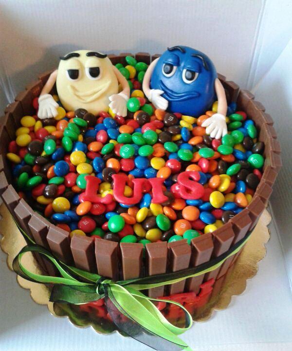 m&m's cake 2.0