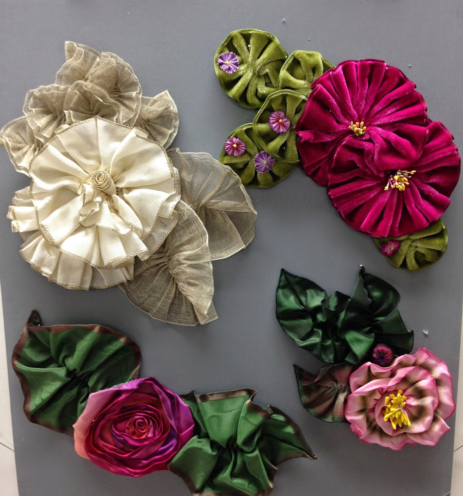 Wesew flower power with candace kling and although simple in appearance the subtle nuances of making a beautiful ribbon flower izmirmasajfo