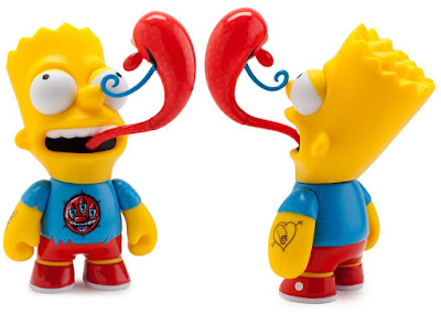The Simpsons x Kidrobot Kenny Scharf Bart Simpson Vinyl Figure