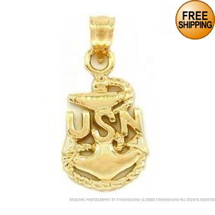 Navy Anchor Charm6