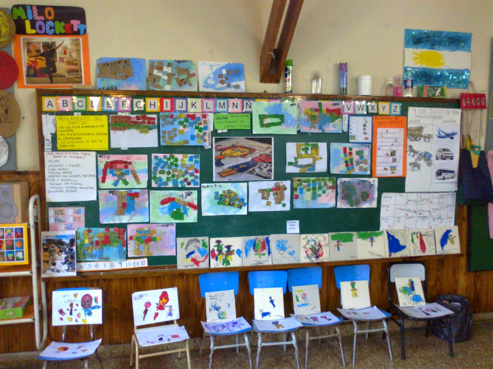 Huellas del jard n proyecto milo lockett for Actividades para el jardin de infantes