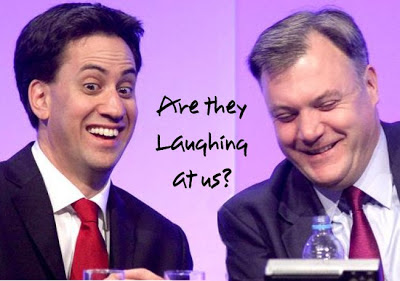 Are the laughing at us? Miliband and Balls