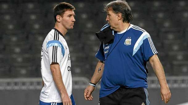 Gerardo Martino no cree que Messi vaya a dejar Argentina