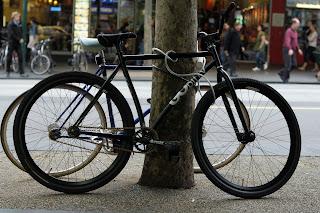 GOrilla, kilroy, fixed speed, swanston st, melbourne, the biketorialist, tim macauley