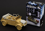 Mantis Miniatures 1/35th scale Kubelwagen accessories build review