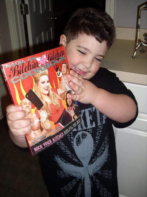 Adam with BK Cookbook