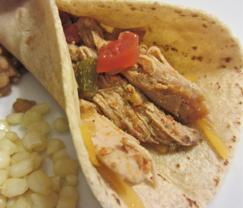 ... Mommy, Big Appetite: Slow Cooker Salsa Verde Shredded Pork Tacos