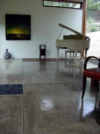 Ideas ecol gicas para renovar tus pisos for Cemento pulido exterior