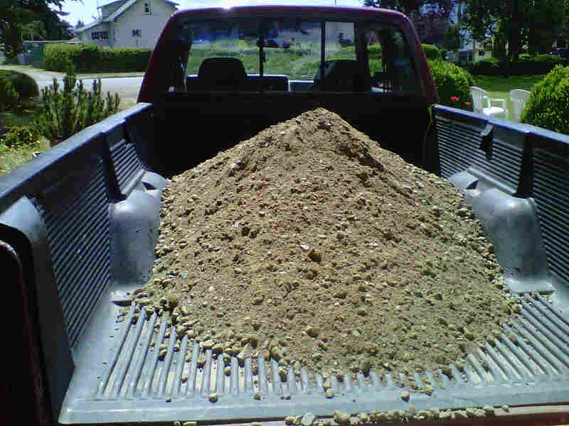 1 cubic yard of gravel rock rock n dirt yard 1 yard of for Soil x cleaner