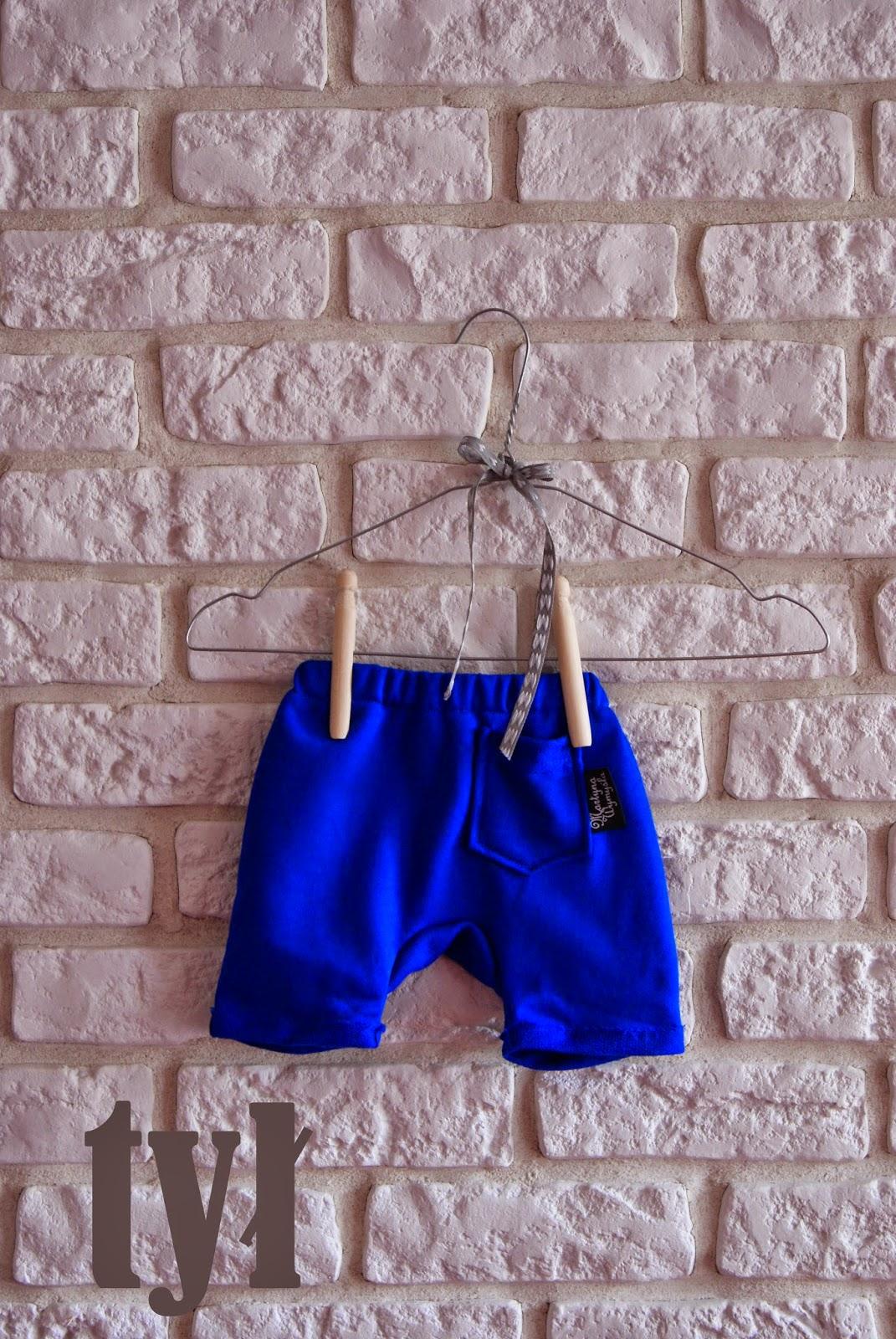 krótkie spodnie dla niemowlaka 3