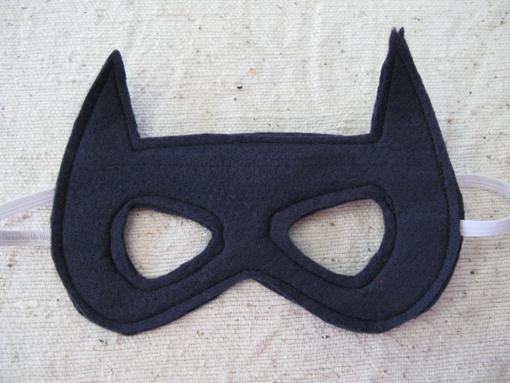 Сшить маска бэтмена своими руками из