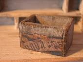 A rustic prim box
