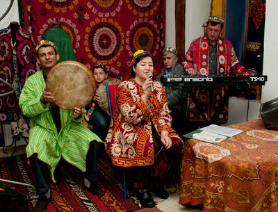 uzbekistan fashion, uzbek tour 2014, central asian craft tours