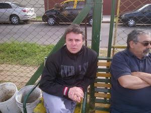 Juanqui en famoso sillon