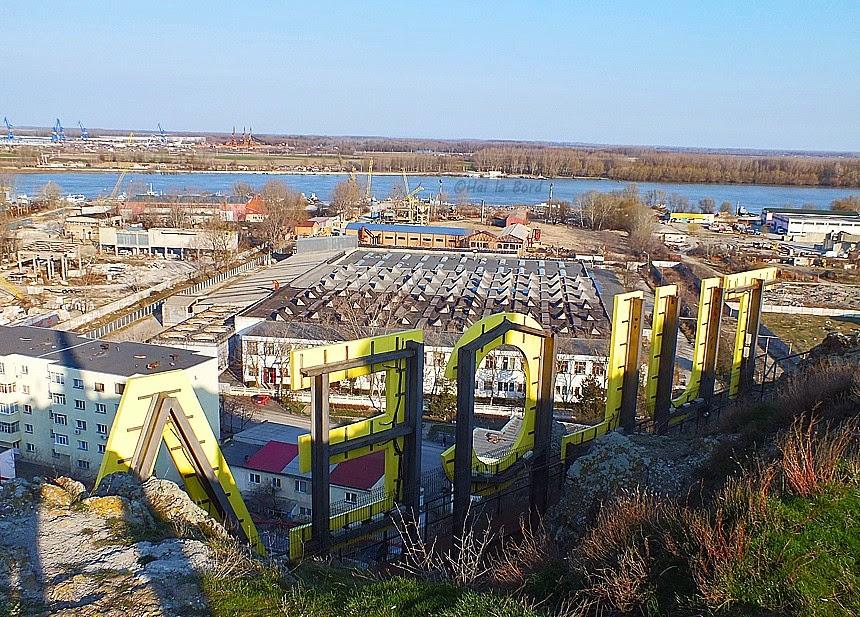 panorama monumentul independentei tulcea martie