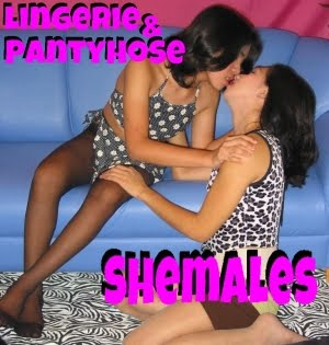 Lingerie & Pantyhose Shemales