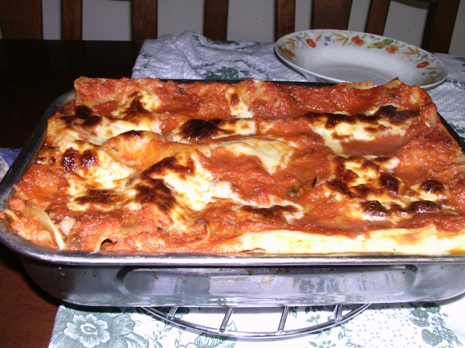 Cosa cucino oggi lasagne quasi vegetariane - Cosa cucino oggi a pranzo ...