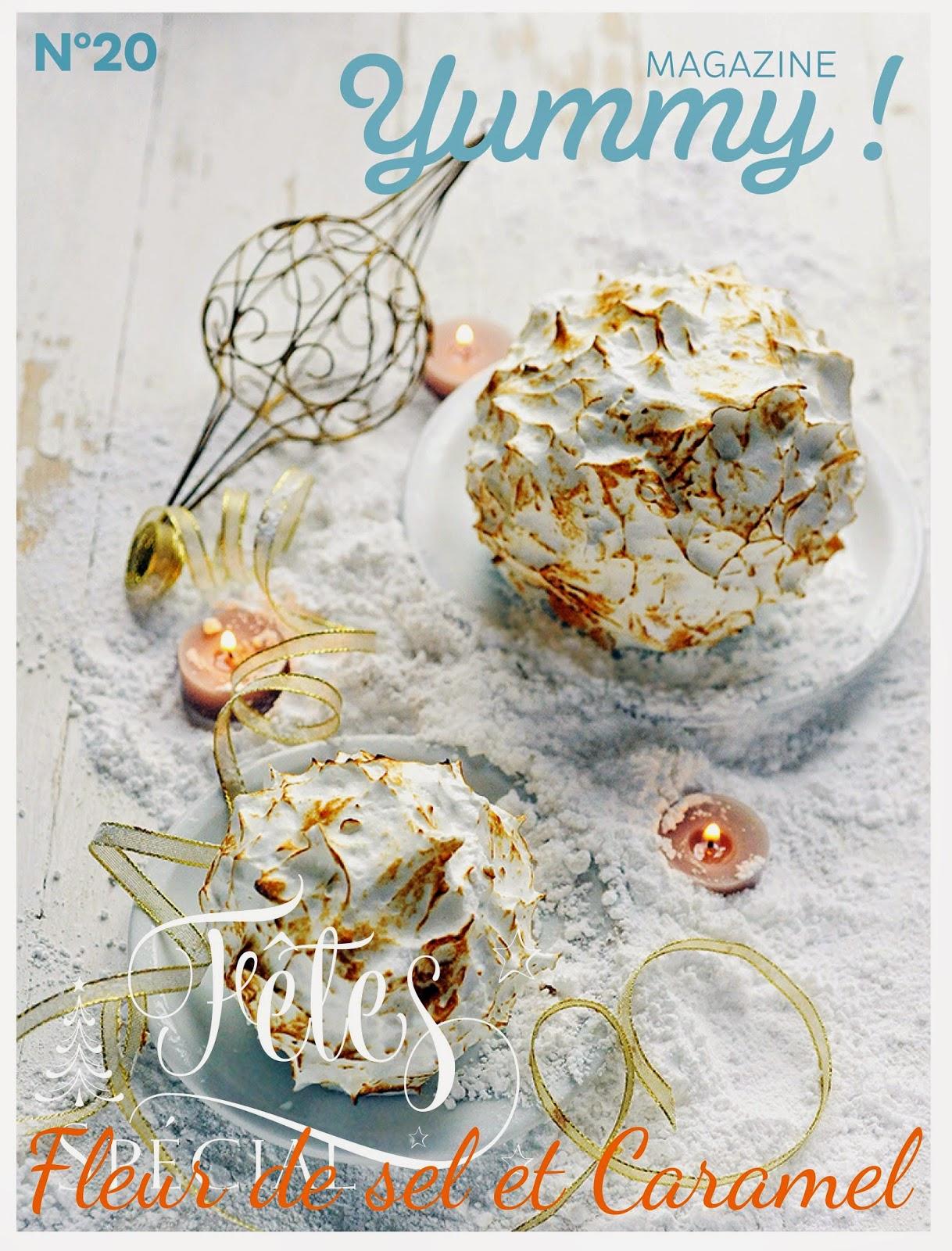 """Yummy magazine """"spécial Noël"""" 2014"""