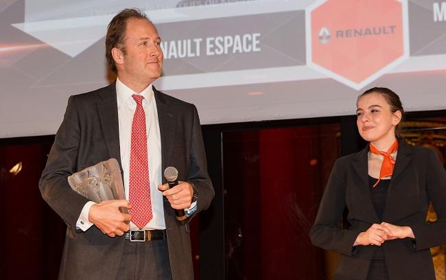 Ông Michael van der Sande, phụ trách Marketing của Renault