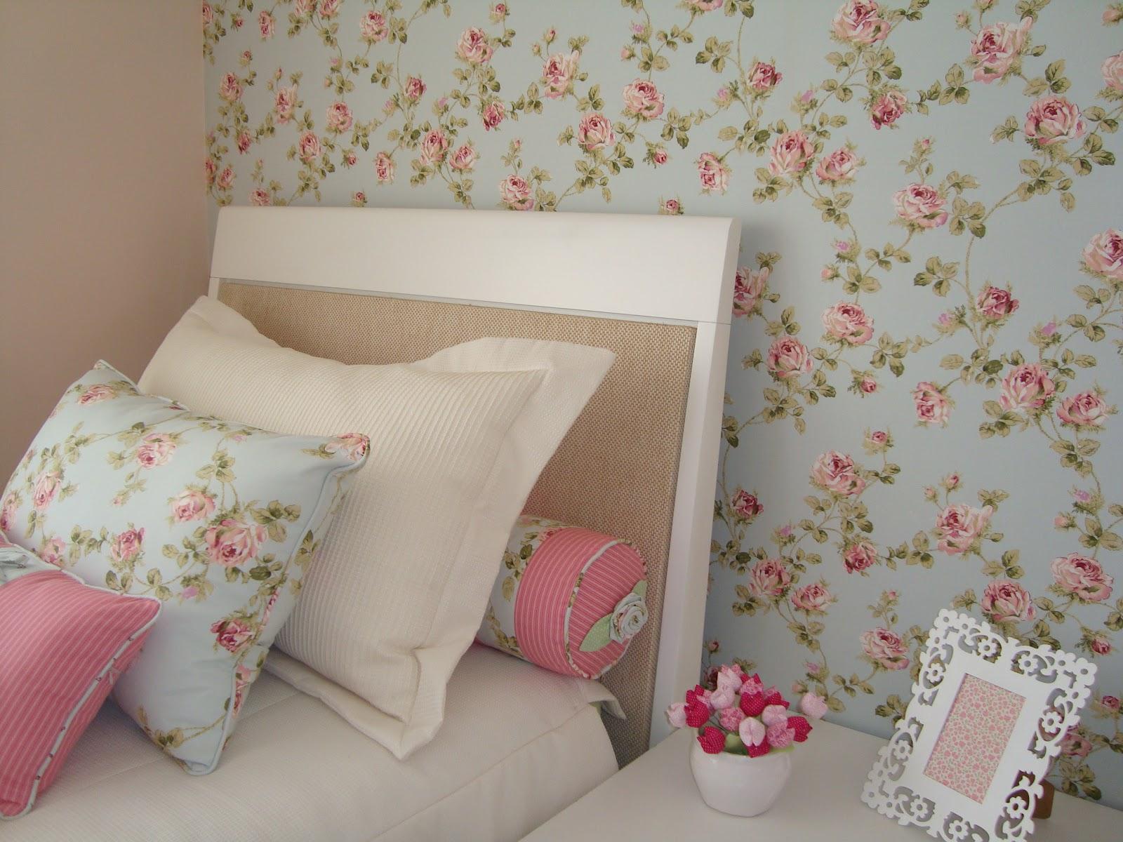 Meninas do Pano Tecido aplicado na parede  Romântico e charmoso -> Decoracao De Banheiro Com Tecido Na Parede