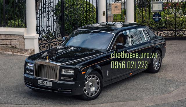 Cho thuê xe 4 chỗ VIP Roll Royce